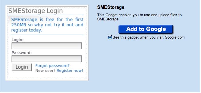 SMEStorage iGoogel