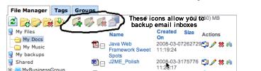 StorageEmailBackup