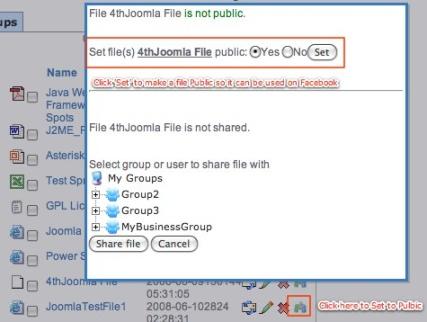 PublicFiles for Facebook