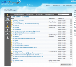 Lite Cloud File Manager