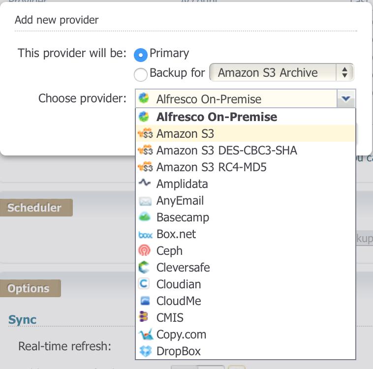 Add Amazon S3