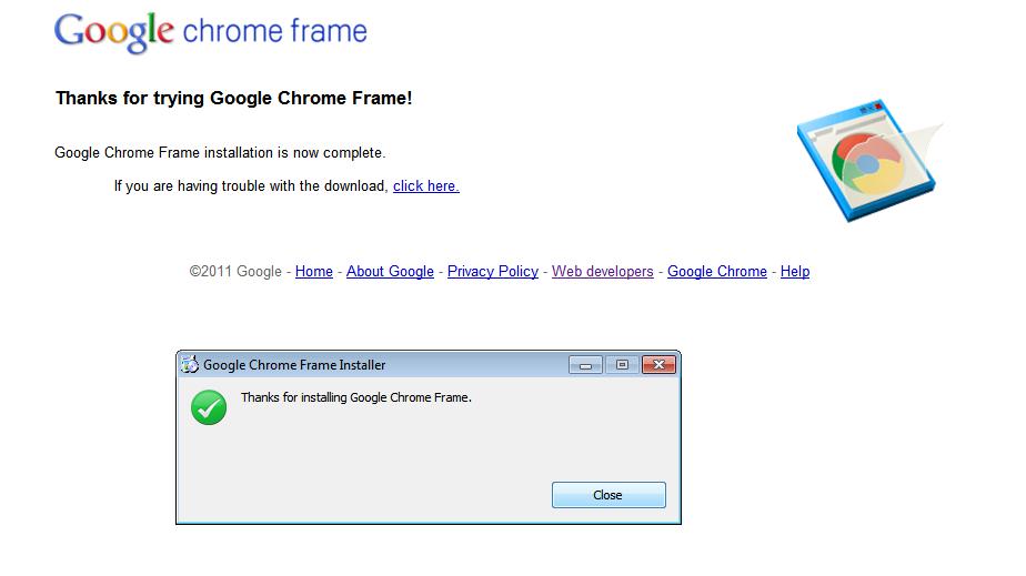 Support for Chrome Frame in Internet Explorer   Storage Made Easy Blog