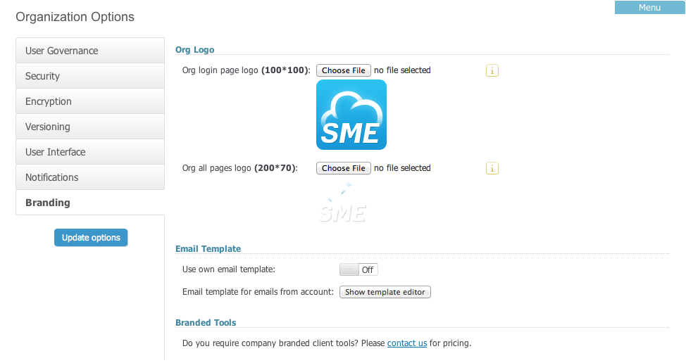 SME Team Options