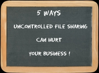 uncontrolled file sharing