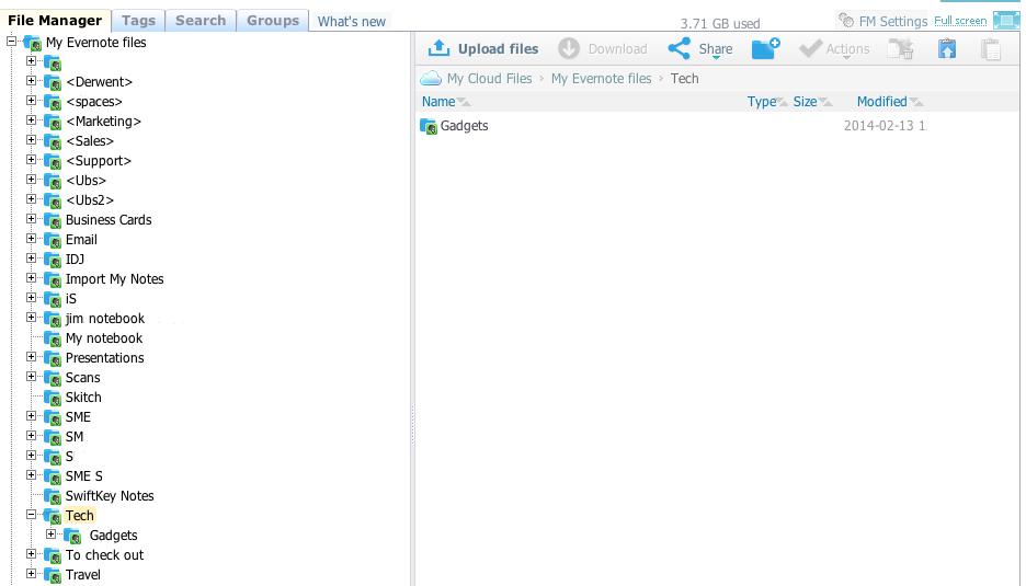 SME Evernote File Manager