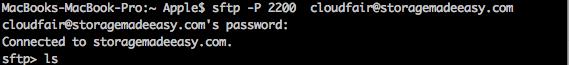 Mac SFTP
