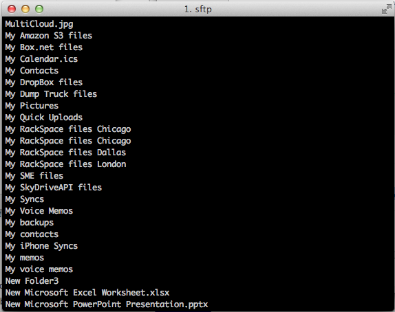 Mac SFTP S3