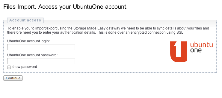 migrate from Ubuntu One