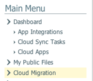 Cloud Migration Assistant