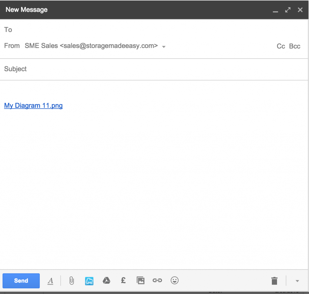 Gmail shared files
