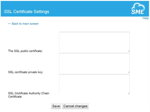 SME SSL Certificates