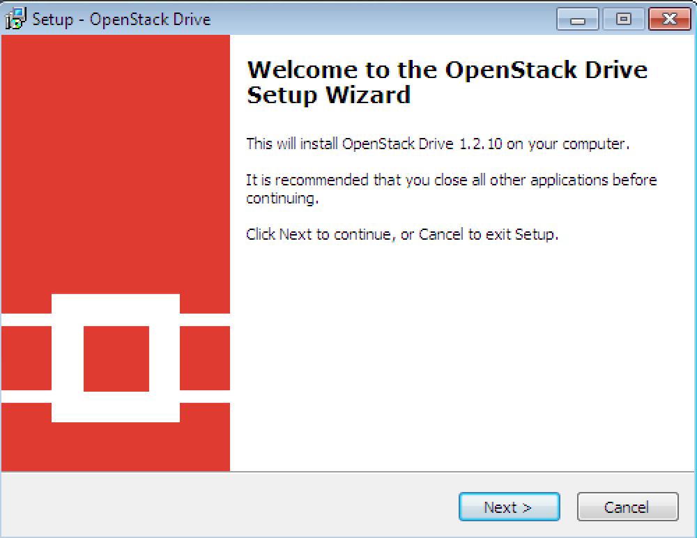 OpenStack Drive Installer