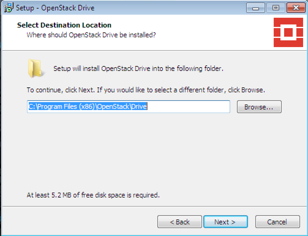 OpenStack Cloud Drive