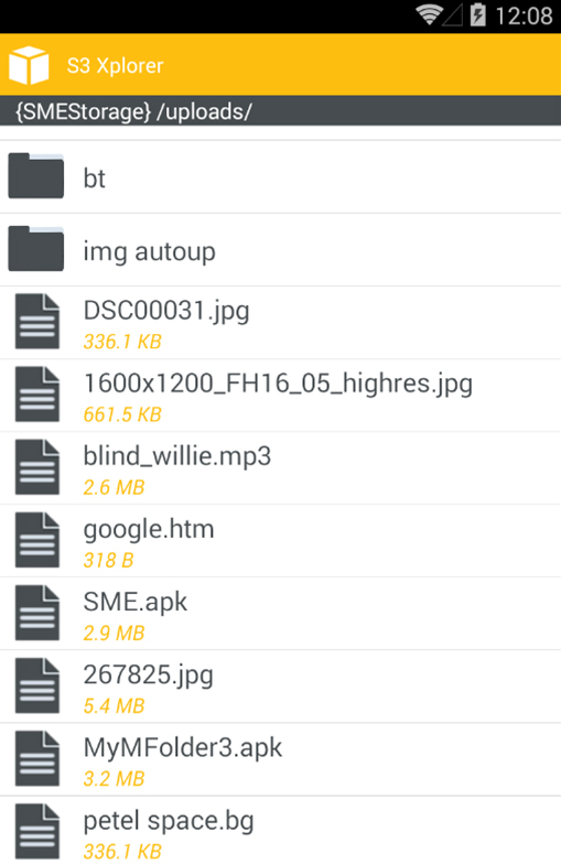 S3 Android File Manager