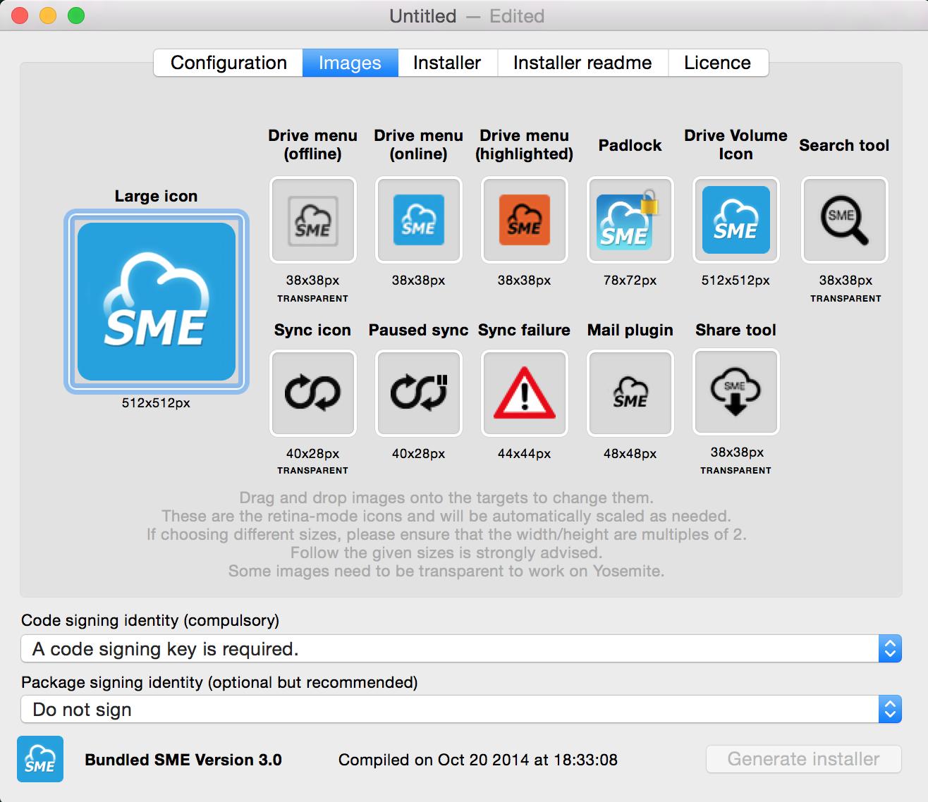Mac cloud storage