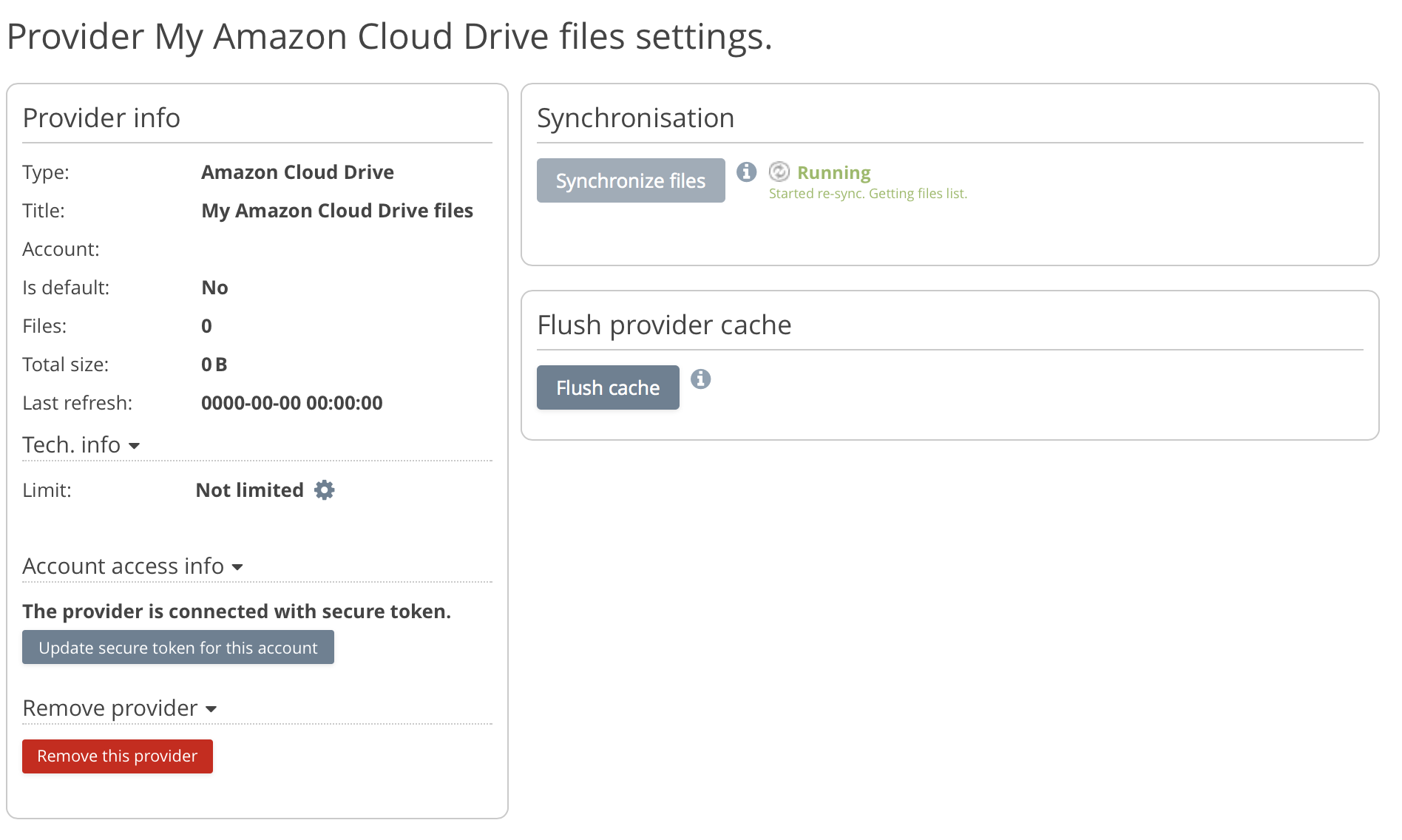 Amazon Cloud Drive Browser