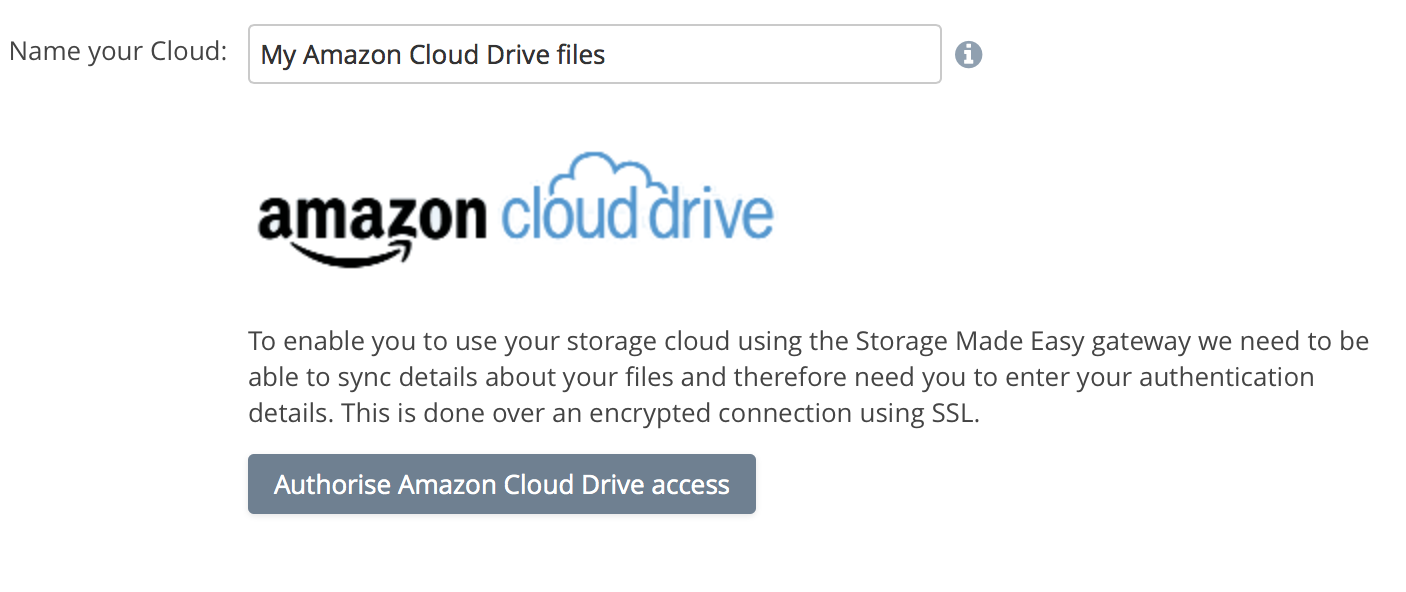 Amazon Cloud Drive OAuth