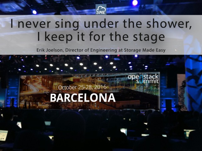 OpenStack Summit Barcelona: Vote for Erik
