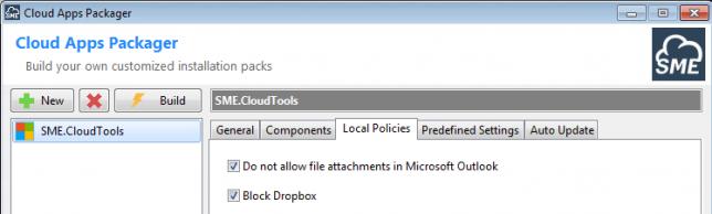 Block DropBox