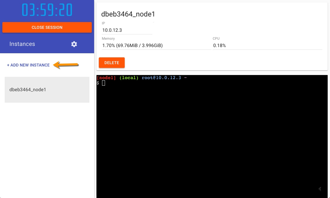 Play with Docker: Docker containers in your browser