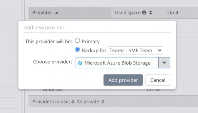 Microsoft Teams Backup